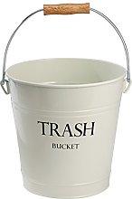 InterDesign Pail Wastebasket Trash Can - Metal,