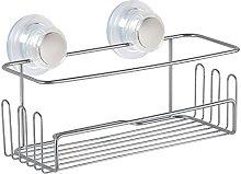 InterDesign Turn-N-Lock Suction Shower Storage,