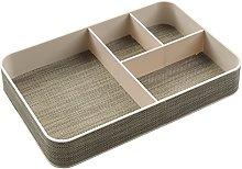 InterDesign Twillo Desk Tidy Organiser, Plastic