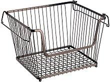 InterDesign York Lyra Wire Basket, Compact Kitchen