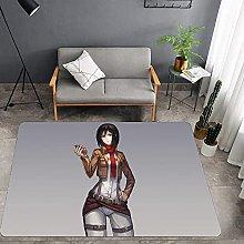Interesting non-slip area carpet animation attack