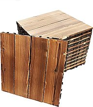 Interlocking Flooring Garden Decking 10pcs Solid