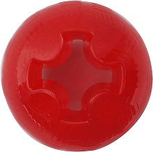 Interpet Mighty Mutts Rubber Ball (Large) (Red)