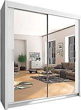INTERWOOD 2&3 sliding door wardrobe for bedroom