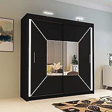 INTERWOOD Double Sliding Door wardrobe for bedroom