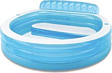 Intex 7.5ft Swim Centre Round Family Pool with