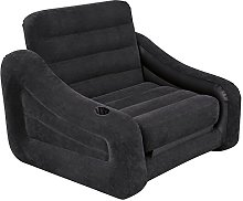 Intex One Person Inflatable Pull Out Chair Bed