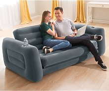 Intex Pull-Out Chair 203x231x66 cm Dark Grey