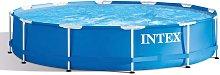 Intex Swimming Pool Metal Frame 366x76 cm 28210NP