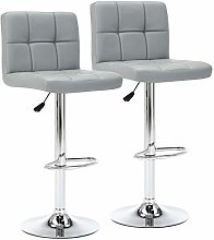 IntimaTe WM Heart Bar Stools Set of 2, Faux