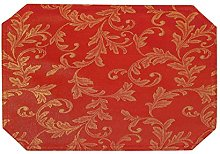 Intimates Home Bedding Store Red Gold Table