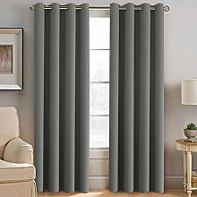 INVACHI 2 Panels Super Soft Thermal Insulated