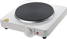 Invero® Large Single Hot Plate Electrical 1500W