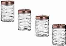 Invero Set of 4 Kitchen Airtight Storage Container