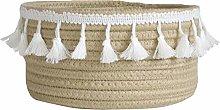 Inwagui Cotton Rope Basket Woven Storage Box