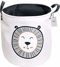 Inwagui Large Storage Basket Collapsible Canvas
