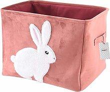 Inwagui Thickened Velvet Fabric Storage Basket
