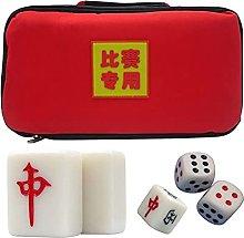 IOPQQ Mahjong Sets Chinese Mahjong Set with
