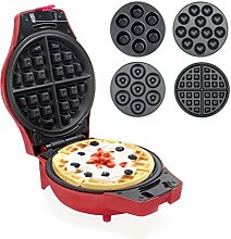 Ipalmay Waffle Maker 4 in 1 Multi Treat - Donuts