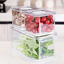 iPEGTOP Fridge Food Storage Containers Set,