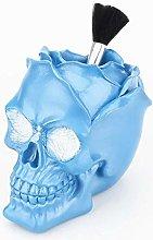 IPENNY Skull Head Makeup Brush Holder Pen Holder