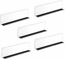 iplusmile 25X7CM Shelf Divider Closet Storage Rack