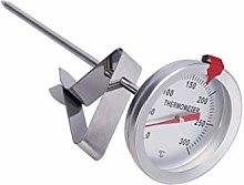 iplusmile Deep Fry Thermometer Stainless Steel