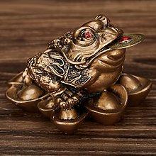 IPOTCH Feng Shui Money Frog Statue Figurine Wealth