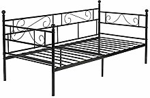 IPOTIUS Single Daybed Sofabed Metal Bed Frame