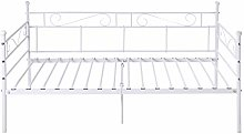 IPOTIUS Sofa Bed Day Bed Metal Bed Frame Guest Bed