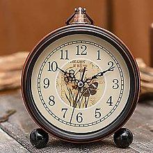 IPRE Mantel Clock, Silent Retro Mantle Clock