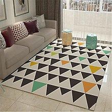 IRCATH Black Green Yellow Triangle Pattern 3D