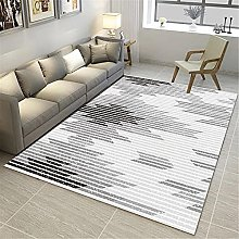 IRCATH Gray and White Abstract Line Pattern