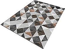 IRCATH Gray Black Triangle Pattern Simple Fashion