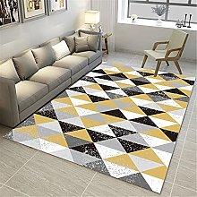 IRCATH White Black Yellow Gray Triangle Pattern