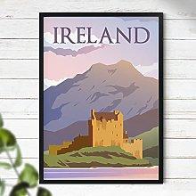 Ireland Poster - Travel Print | Travel Wall Art |