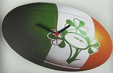 Ireland Rugby Ball Wall Clock Ideal Clock Gif
