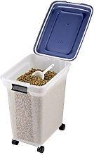 IRIS 45 Litre Airtight Clear Plastic Storage Food