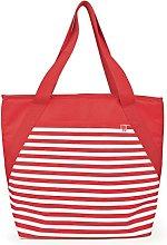 IRIS Beach Cooler Bag Fabric, Color Red