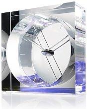 Iris Desk Clock Ebern Designs Colour: Blue