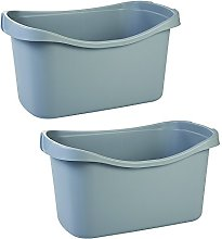 Iris Ohyama Set of 2 Jumbo Toy Basket - Plastic,