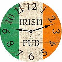 Irish Clock, Home Office School Decorative