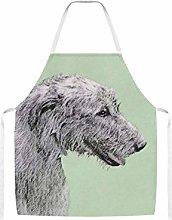 Irish Wolfhound Painting Cute Original Dog Art