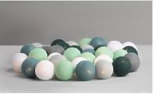 Irislights - 20 Balls Cactus Light Chain - cotton