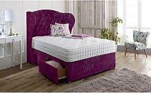 Irizarry Upholstered Divan Bed and Headboard