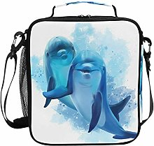 iRoad Large Lunch Bag Cooler Watercolor Cute