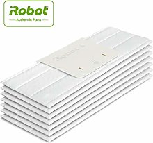 iRobot Floor Cleaning Cloth Kit Disposable Bianco