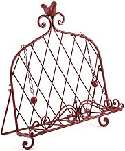Iron Cookbook Stand ~ Book Holder Adorned with