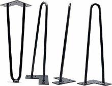 Iron Hairpin Legs, Furniture Legs Table Metal Feet