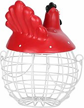 Iron Kitchen Decorations Egg Basket Egg Storage